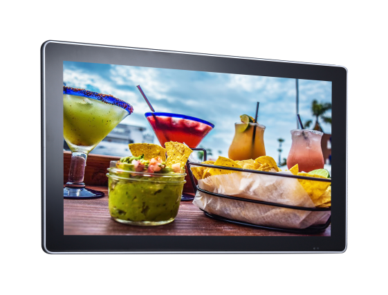 Android 32 Inch Wall Mount Lcd Display 8GB Storage WIFI 3G LAN Network Built - In HD Audio