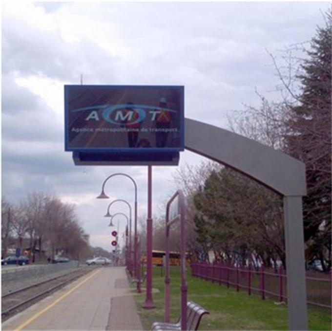 High Definition Wall Mount Digital Lobby Signage , Outdoor Touch Screen Advertising Kiosk