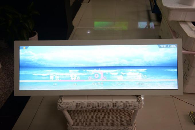 Ultra Thin Stretched Lcd Bar Display , Digital Signage