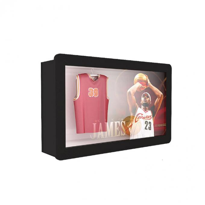 55 Inch Customized Transparent Lcd Monitor , Android Network Transparent Touch Screen Monitor