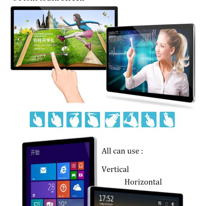 32 Inch HD All In One PC Touch Screen I3 Desktop Laptop Computer Wall Mounted